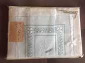 Parure de lit pur fil de lin brodé 150 Fontvieille (13)