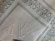 Parure de lit pur fil de lin brodé Décoration
