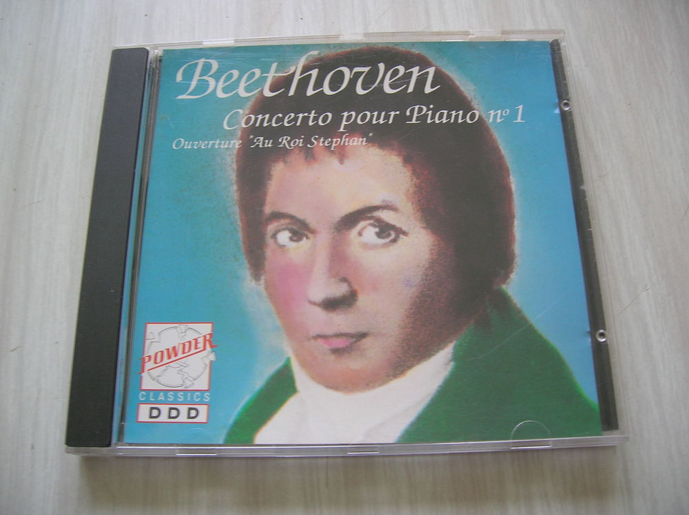 CD BEETHOVEN Concerto pour piano N°1 8 Nantes (44)