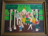 Tableaux /peinture /saltimbanque/moyen âge 65 Castres (81)
