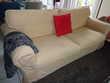 Canapé convertible beige 2 places Meubles