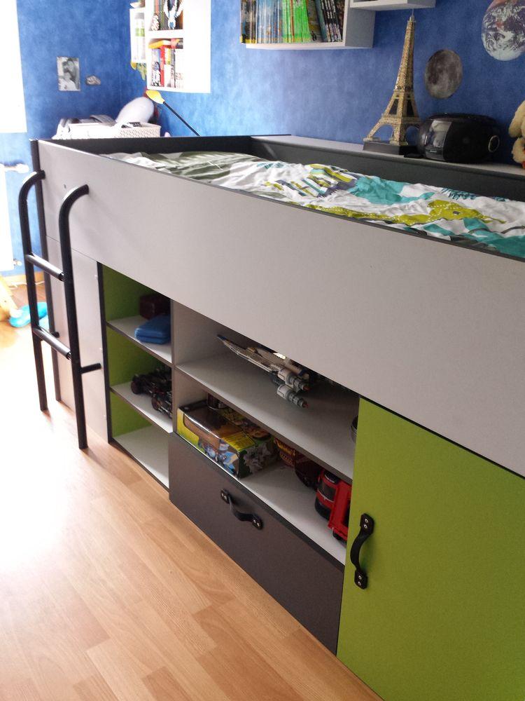 lit alinéa enfant avec rangements 180 Laval (53)