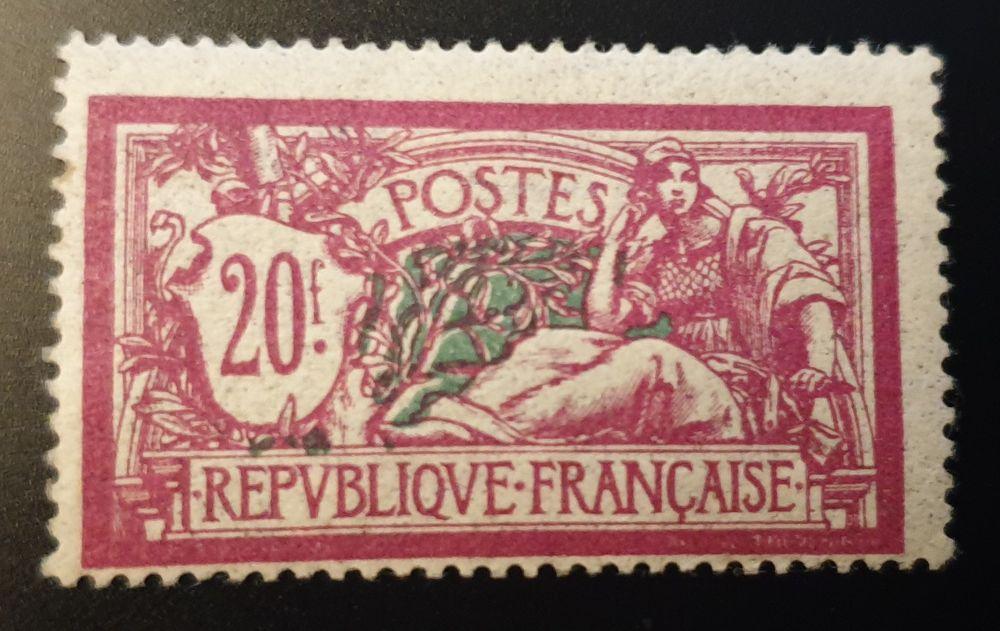 Timbre 208 Charnière côte 230 euros TTB 30 Joué-lès-Tours (37)