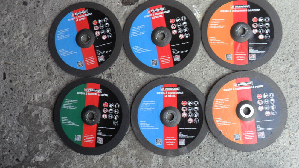 6 disques meuleuse 230 neuf 40 Lons (64)