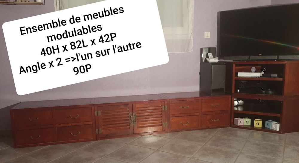 AMEUBLEMENT / CONSOLE MODULABLE 75 Vinay (38)