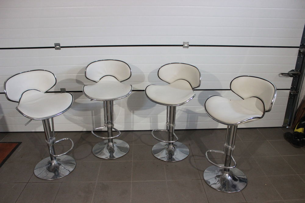 4 chaises de bar réglables 90 Gruson (59)