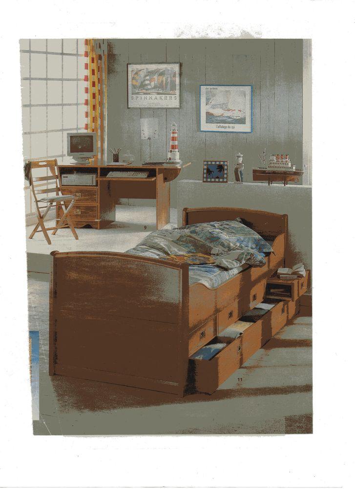 Chambre à coucher enfant - ado 500 Cadarsac (33)