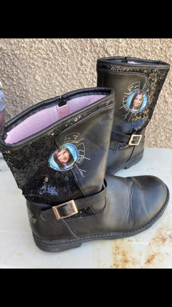 Vends bottines fillette- FRANKy- très peu mises -P 34- color Chaussures