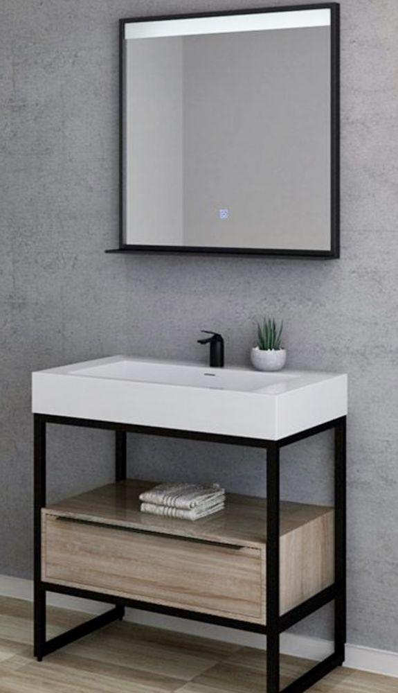 Meuble vasque et miroir Distribain 400 Paris 15 (75)