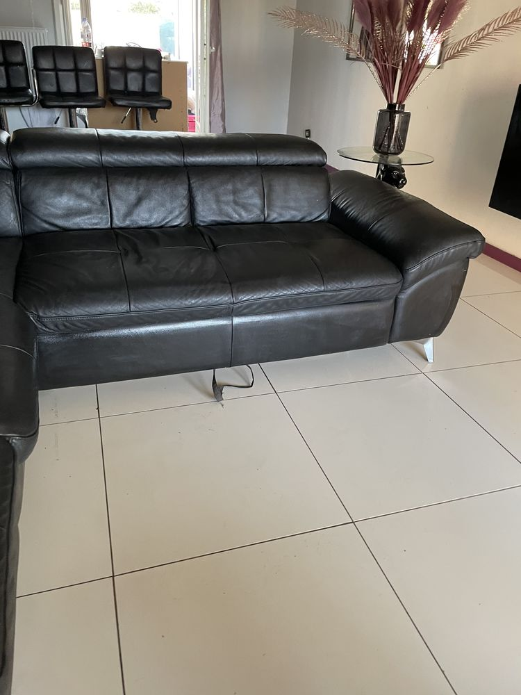 Canapé d angle à droite en cuir  450 Toulouse (31)