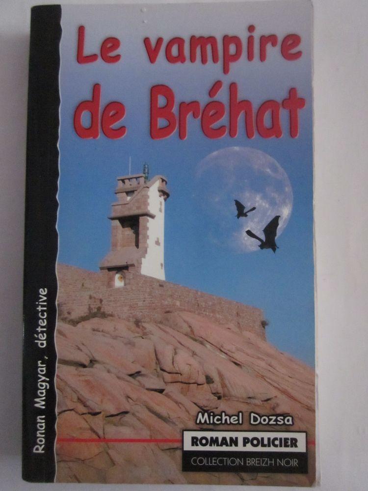 LE VAMPIRE DE BREHAT  roman policier  BREIZH NOIR 4 Brest (29)