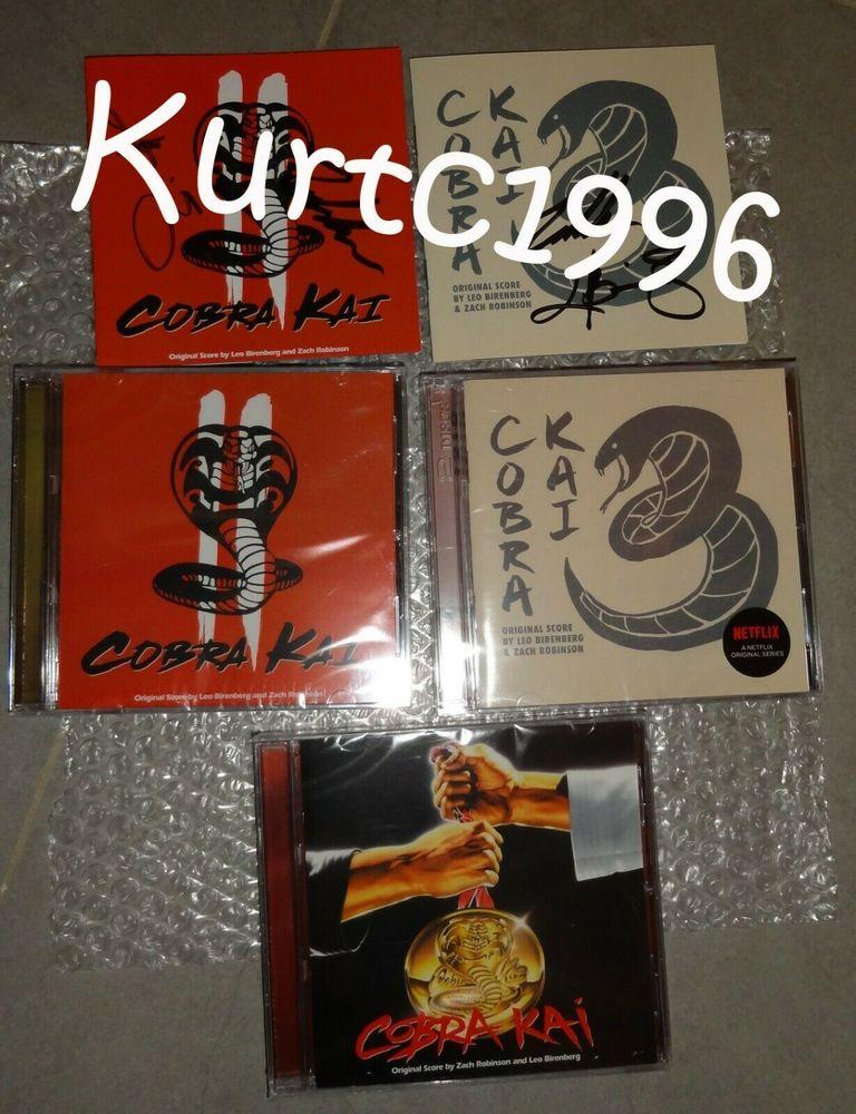 Set introuvable et exclusif intégrale Cobra Kaï CD et vinyles