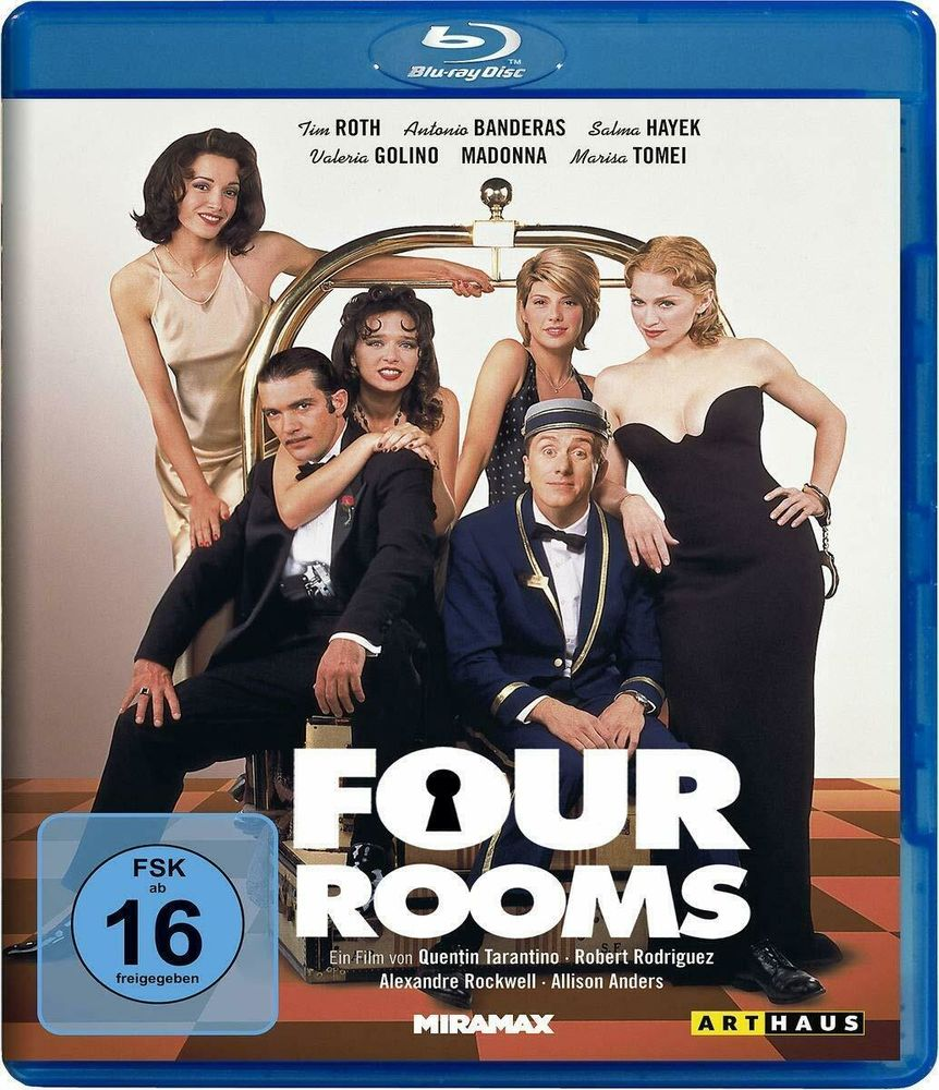 Blu-ray import Four Rooms (Groom Service) de Tarantino neuf 30 Bourghelles (59)