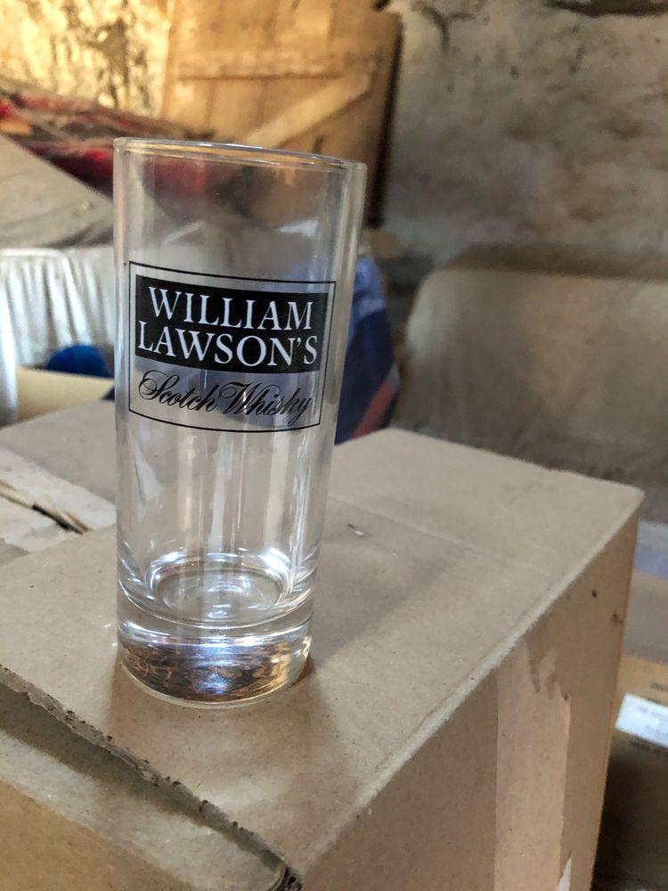 Lot de verres publicitaires  1800 Crépy-en-Valois (60)